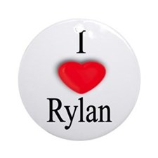 Rylan Ornament (Round)