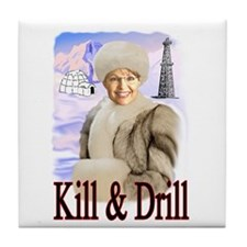 Kill Kill Kill Tile Coaster