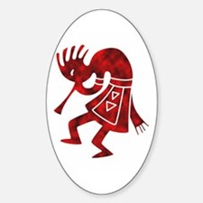 Kokopelli Oval Decal