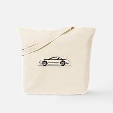 2002 05 Ford Thunderbird Hardtop Tote Bag