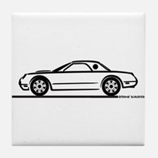2002 05 Ford Thunderbird Hardtop Tile Coaster