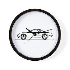 2002 05 Ford Thunderbird Hardtop Wall Clock