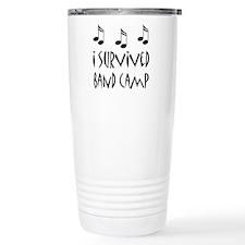 I Survived Band Camp Travel Coffee Mug