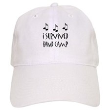 I Survived Band Camp Baseball Baseball Cap