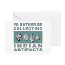 ARROWHEAD COLLECTOR Greeting Card