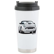 2002 05 Ford Thunderbird White Travel Mug