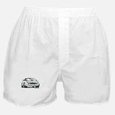 2002 05 Ford Thunderbird White Boxer Shorts