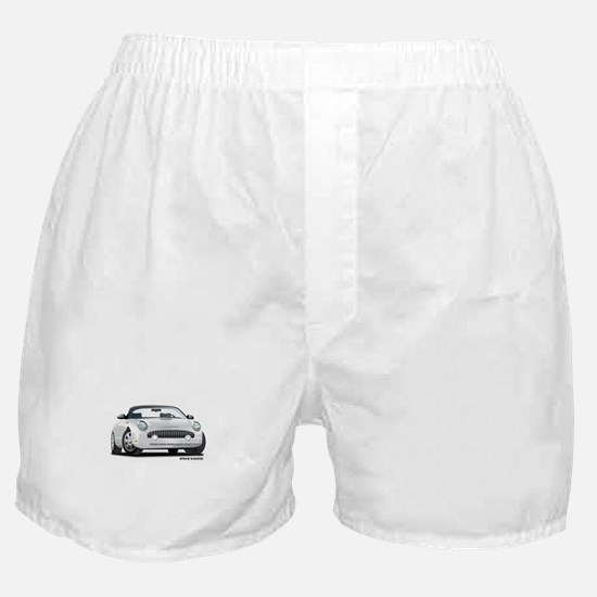 2002 05 Ford Thunderbird White Boxer Shorts