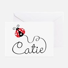 Ladyug Catie Greeting Cards (Pk of 20)