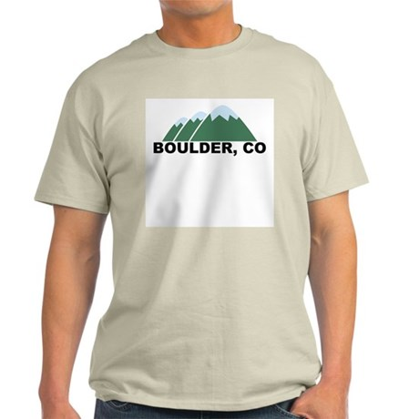 Boulder, CO Light T-Shirt