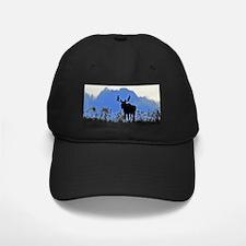 Bull at dusk Baseball Hat