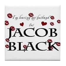 Leaving husband for Jacob Tile Coaster