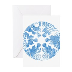 snowflake Greeting Cards (Pk of 20)