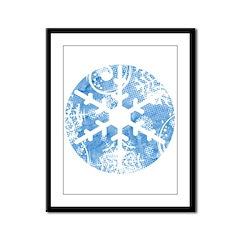 snowflake Framed Panel Print