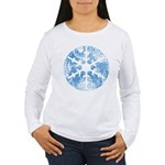 snowflake Women's Long Sleeve T-Shirt