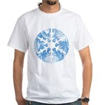 snowflake White T-Shirt