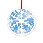 snowflake Ornament (Round)