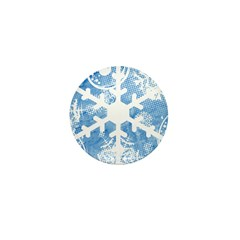 snowflake Mini Button