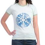 snowflake Jr. Ringer T-Shirt