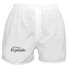 Vintage Captain Boxer Shorts