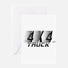 4x4 Truck 2 Greeting Card