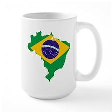 Brazil Futbol Mug