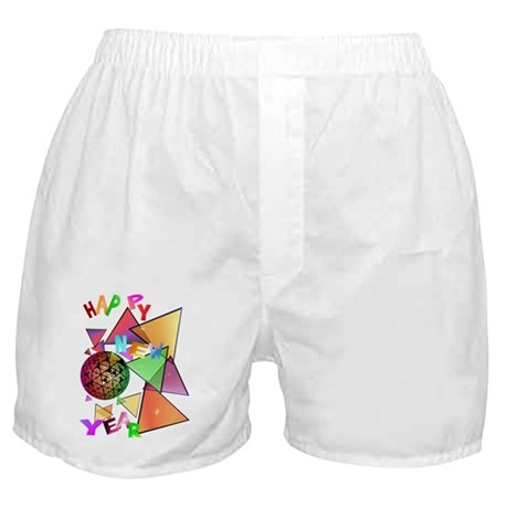 Exploding New Years Ball Boxer Shorts