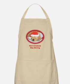 """Not A Creature Was Stirring"" Christmas Apron"