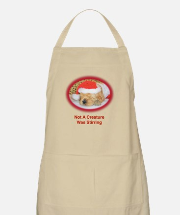 """""""Not A Creature Was Stirring"""" Christmas Apron"""