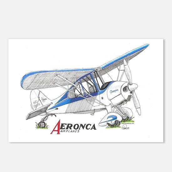 Aeronca Airplanes Postcards (Package of 8)