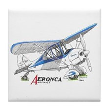 Aeronca Airplanes Tile Coaster