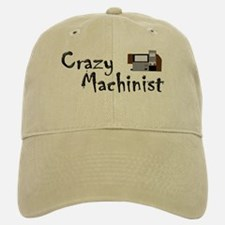 funny machinist cnc Baseball Baseball Cap