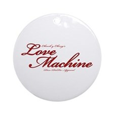 Love Machine Ornament (Round)