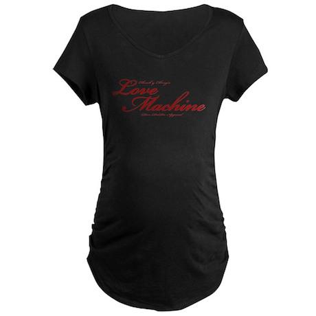 Love Machine Maternity Dark T-Shirt