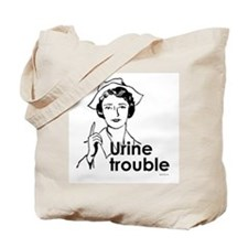 Urine Trouble ~  Tote Bag