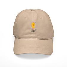 Softball Chick Baseball Cap