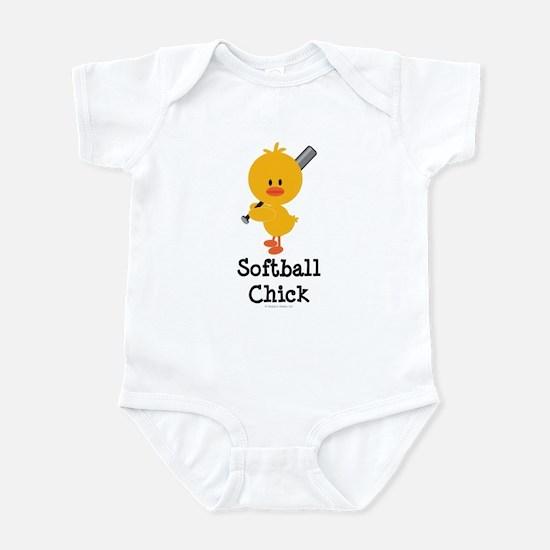 Softball Chick Infant Bodysuit