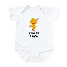 Softball Chick Onesie