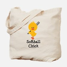 Softball Chick Tote Bag