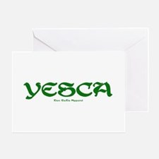 YESCA Greeting Card