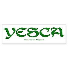 YESCA Bumper Bumper Sticker