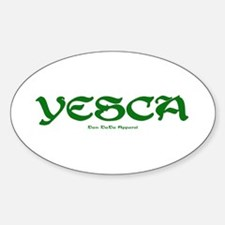 YESCA Oval Decal