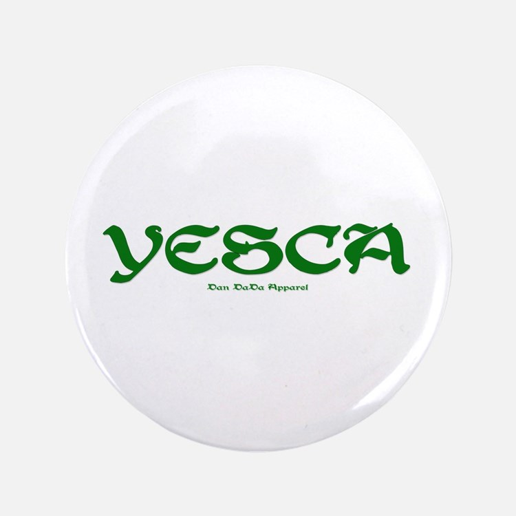 """YESCA 3.5"""" Button"""