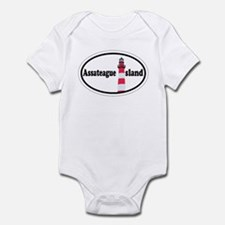 Assateague Island VA Infant Bodysuit