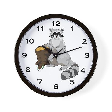 Raccoon Clock