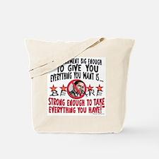 Big Government Anti Obama Tote Bag