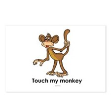 Touch my monkey ~  Postcards (Package of 8)