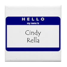 Cindy Rella Tile Coaster
