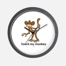 Touch my monkey ~  Wall Clock