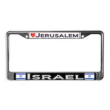 Jerusalem, ISRAEL - License Plate Frame